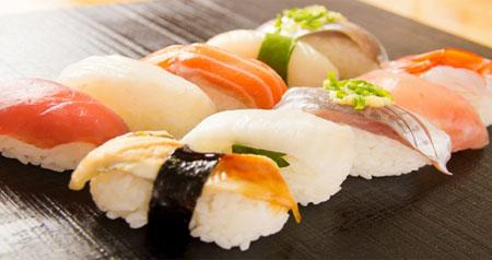 おいしいお寿司の画像