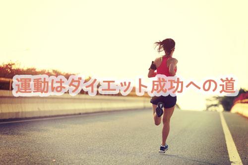 運動はダイエット効果を高める