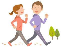 運動と食事の関係