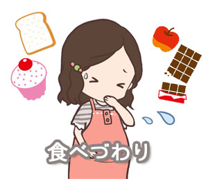 食べづわりの画像