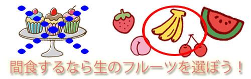 間食するならフルーツ