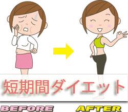 短期間で痩せる方法として健康的なダイエット方法とは何かを調査